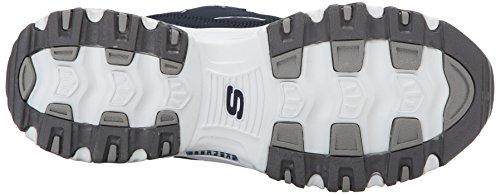 Start Navy Skechers Blu Donna Sneaker White D'Lites Fresh PW6gq