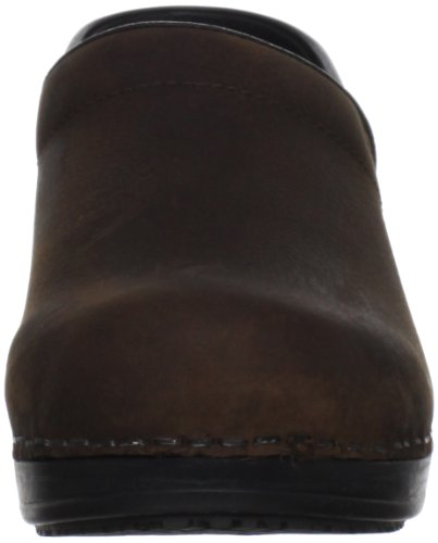 Women's Albertine Sanita Antique Brown Clog wzq5qd8