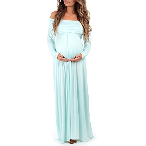 d33bdd266b382 Women's Cowl Neck and Over The Shoulder Ruched Maternity and ...