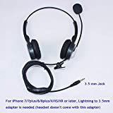 Callez 3.5mm Cell Phone Headset Dual