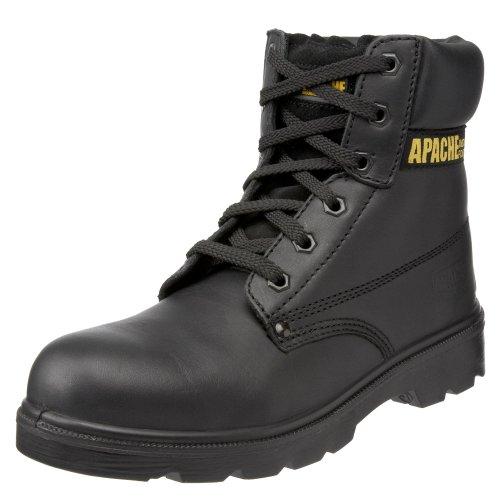 Sterling Safetywear Apache, Herren Sicherheitsstiefel Schwarz (Schwarz)