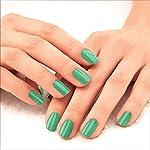 LAKMÉ 9to5 Primer + Gloss Nail Colour, Mint Twist, 6 ml