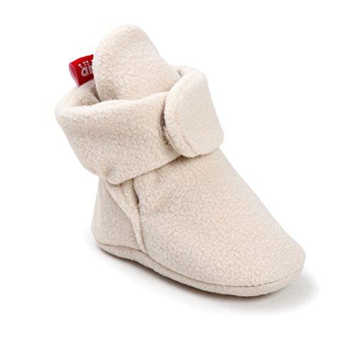 Pictures of Newborn Cozie Fleece Bootie Unisex Infant Toddler A0862 2