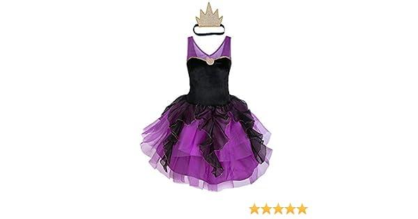 Disfraz de Ursula de Disney con tutú para adultos – La Sirenita ...