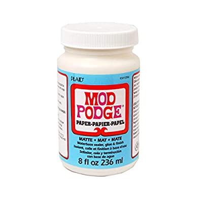 Mod Podge Waterbase Sealer, Glue and Finish for Paper
