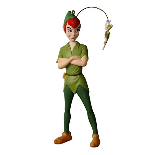 Hallmark Keepsake Christmas Ornament 2018 Year Dated, Disney Peter Pan Faith, Trust & Pixie (Hallmark Christmas Ornaments)