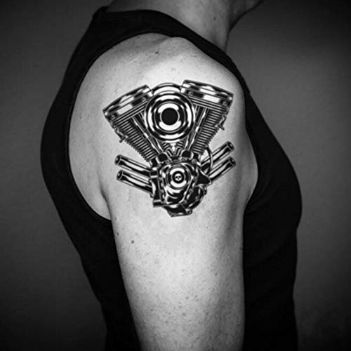 Tatuaje Temporal de V gemelo (2 Piezas) - www.ohmytat.com: Amazon ...