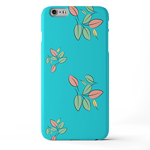 Koveru Back Cover Case for Apple iPhone 6 Plus - Mew Cat in the full moon Leaf Floral