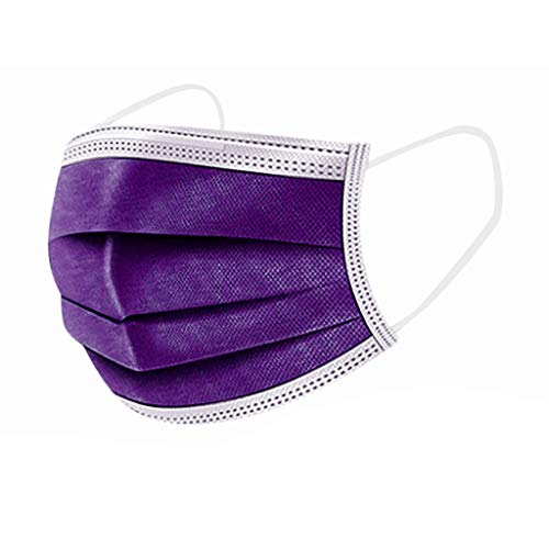 Disposable Face Shields- Pack of 50/200/500-Purple (50PC)