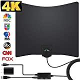 TV Antenna, 2019 Newest HDTV Indoor Digital Amplified TV Antennas 130 Miles Range