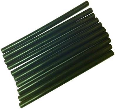 12 de uso profesional Bond barras de pegamento palos de para el pelo de extensión de queratina negro