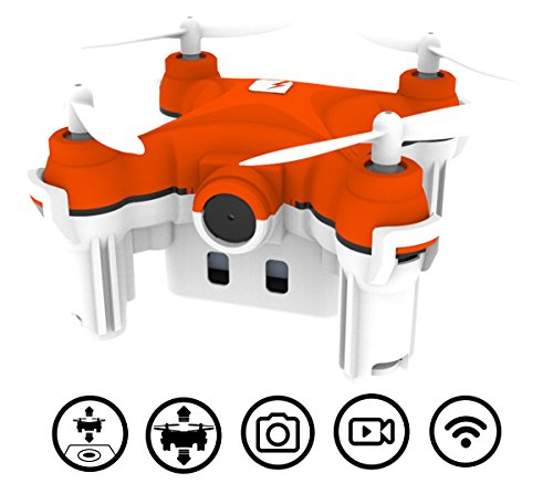 TRNDlabs SKEYE Nano 2 Camera Drone with Auto Take-Off and Land – Quadcopter with HD Video Camera – 6 Axis Gyro