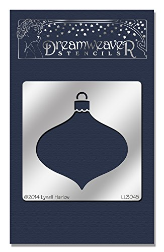 Price comparison product image Stampendous Dreamweaver Metal Stencil, Sm Oval Ornament