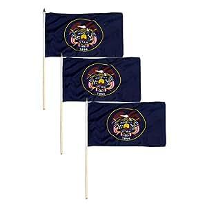 Utah bandera 12x 18inch
