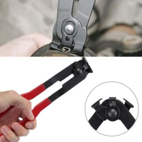 Boot Installer - ShopIdea Ear Type CV Joint Boot Clamp Plier Installer Tool for Fuel & Coolant Hose Pipe