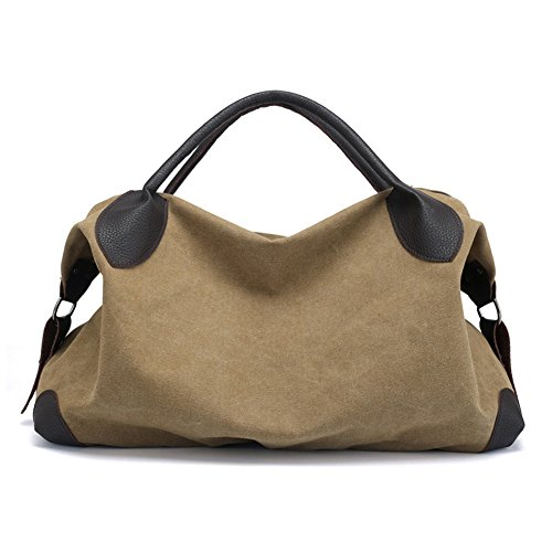 Bag Shoulder Shoulder Simple Style Women's Retro Bag Bag Bag Canvas DCRYWRX Hobo E Removable EYwT4nq8w