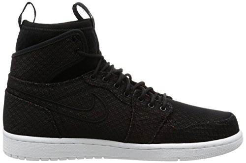 Jordan Nike Herren Air 1 Retro Ultra High Basketball Schuh Blk / Ghst Grn-infrd 23