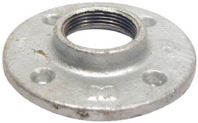 B & K/Mueller Inds(Import) 511-604HN Pipe Fitting, Galvanized Floor Flange, 3/4-In. - Quantity 20