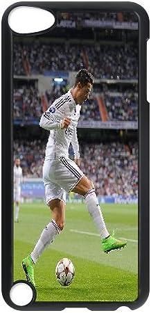 Cristiano Ronaldo con pelota de fútbol Real Madrid para ipod Touch ...