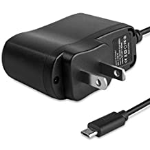 Fosmon Rapid Charge Micro USB Travel Wall Charger Adapter for Samsung Galaxy Round, Alcatel One Touch Evolve / Fierce / Hero / Idol Alpha / Idol S, Jolla Smartphone, ZTE Supreme, Huawei Valiant, Lenovo Vibe X, Samsung ATIV S Neo