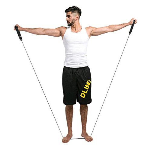 Ruimin Bandes de résistance d'exercice de forme physique, coffre multifonctionnel d'équipement de forme physique de bande élastique