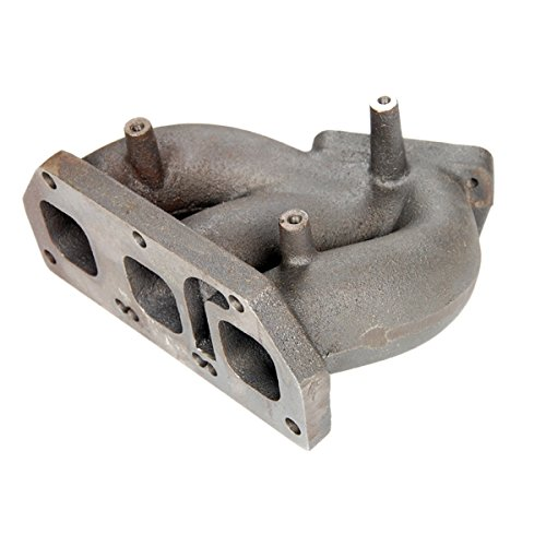Amazon.com: Rev9Power Rev9_MF-025AB; VW Golf Vag V6 / R32 T25 Flange Twin Turbo Cast Manifold: Automotive