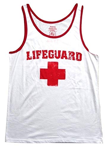 Mad Engine Life Guard Red Logo Distressed