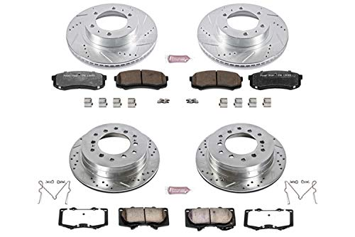 Power Stop K138-36 Z36 Truck & Tow Front and Rear Brake Kit