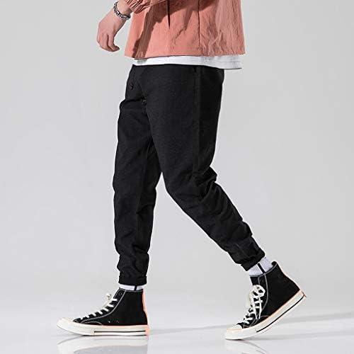 男性の新しいファッションカジュアルな屋外ポケットビーチマルチボタンズボンロングパンツ