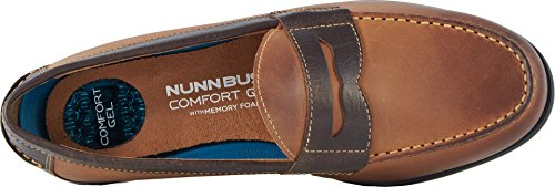 Nunn Bush Mens Drexel Loafer Bruin / Scotch