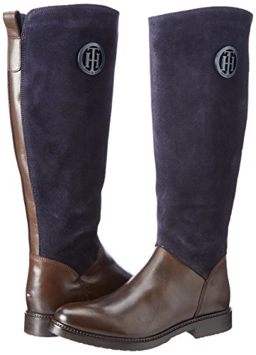 Bean Women''s Hilfiger 18c H1285olly Boots coffee Tommy Brown xZwAFqAS