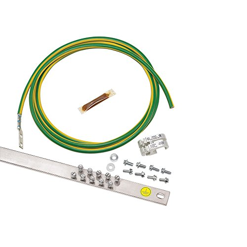 Empire Jumper (Panduit RGREJ696Y Rack Grounding Retrofit Equipment Jumper Kit)