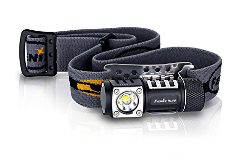 Fenix Flashlights HL50 365 Lumens Headlamp, Black (Fenix Lights)