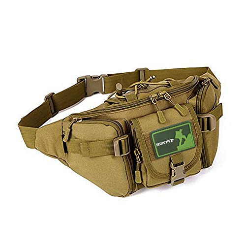 Huntvp Tactical Waist Pack Bag Military Fanny Packs WR Hip Belt Bag Pouch