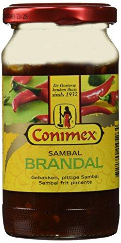 (Conimex Sambal Brandal (Gebakken Sambal/Fried Chilli Paste)7 oz /200gr)