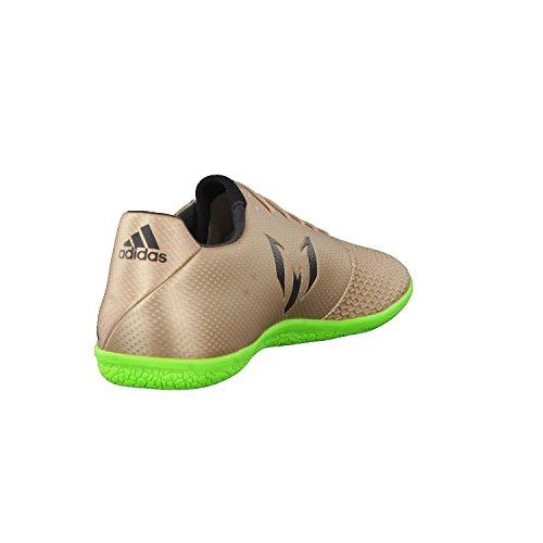 Adidas messi 16.3in–Chaussures de Foot ligne Messi pour Homme, bronze–(cobmet/negbas/versol) 44