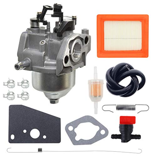 ANTO 14 853 55-S Carburetor for Kohler XT650 XT675 XT6.5 XT6.75 Toro Lawn Mower Engines 14-089-14-S Spring 14-089-44-S Spring with 14 083 15-S Air Filter Tune Up Kit