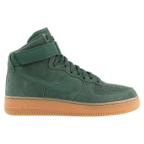 Nike Air Force 1 High '07 LV8 Suede Vintage Green/Vintage Green (13 D(M) US) (Top Green High Nike Shoes)