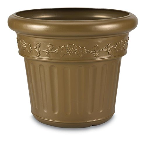 Planter Bronze (Concepts Living Bronze Planter Patio)