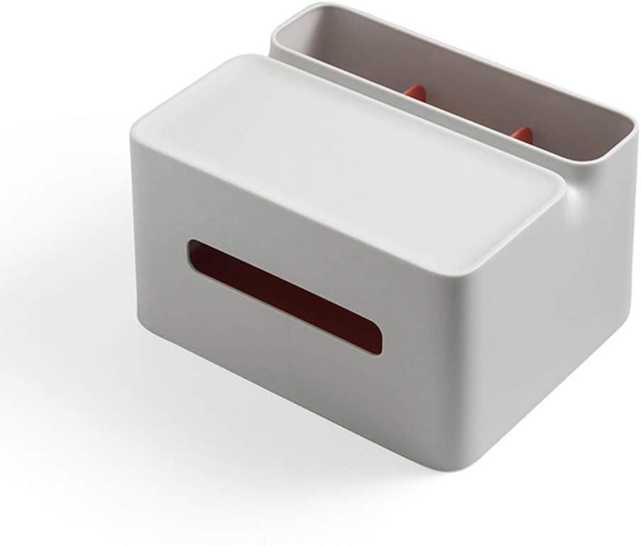 LHDDWY Caja de pañuelos con Soporte Rectangular, multifunción, para lápices, Mando a Distancia, portadocumentos de Papel para el hogar y la Oficina: Amazon.es: Hogar