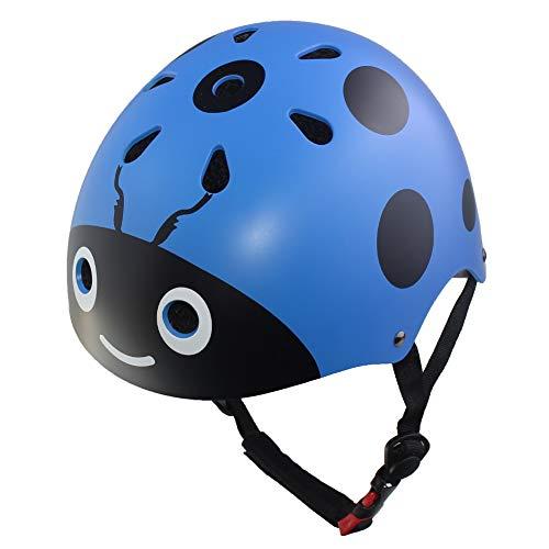 Lanova Boys Girls Ladybug Cycling Multi-Sport Safety Bike Sk