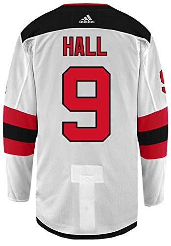 outlet store 85591 0f00d Amazon.com : Taylor Hall New Jersey Devils Adidas Authentic ...