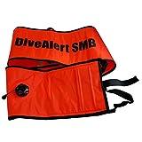 Dive Alert Surface Marker Buoy, Orange