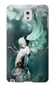 S0166 Vocaloid Hatsune Miku Aqua Case Cover for Samsung Galaxy Note 3