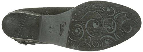 slip Women's 354041 Dockers length boots on Unlined Grau Asphalt 024 Gray short 141024 TgIwxE