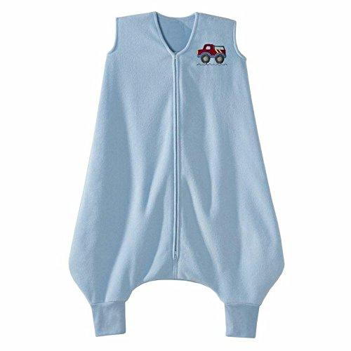 HALO Big Kids SleepSack Wearable Blanket M-Fleece Blue Truck 2-3T CANADA product image
