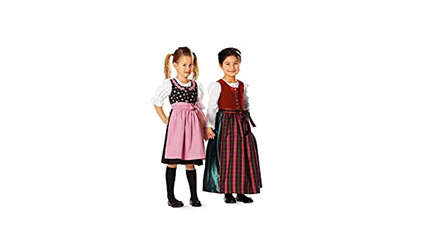 Amazon.com: Burda Dirndl Dress Robe Folklore Sewing Pattern ...