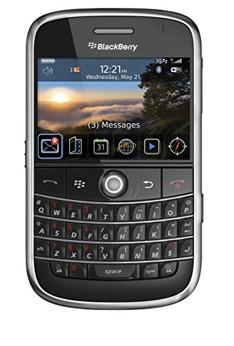 BlackBerry Bold 9000 Unlocked Phone with 2 MP Camera, 3G, Wi-Fi, GPS Navigation, and MicroSD Slot--International Version with No Warranty (Black) (Renewed)