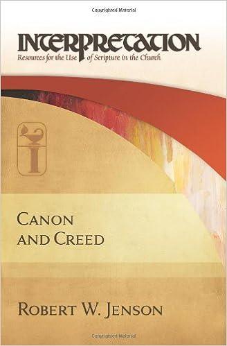 Pdb books téléchargement gratuitCanon and Creed (Interpretation) (Interpretation: Resources for the Use of Scripture in the Church) B005KH3KUU by Robert W. Jenson en français FB2