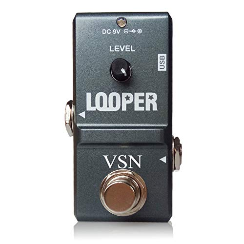 VSN 48K Looper Electric Guitar Effect Loop Pedal 10 Minutes